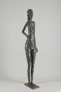 Enrico Campagnola, Jeune fille, 1973