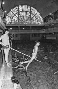 La piscine au siècle dernier