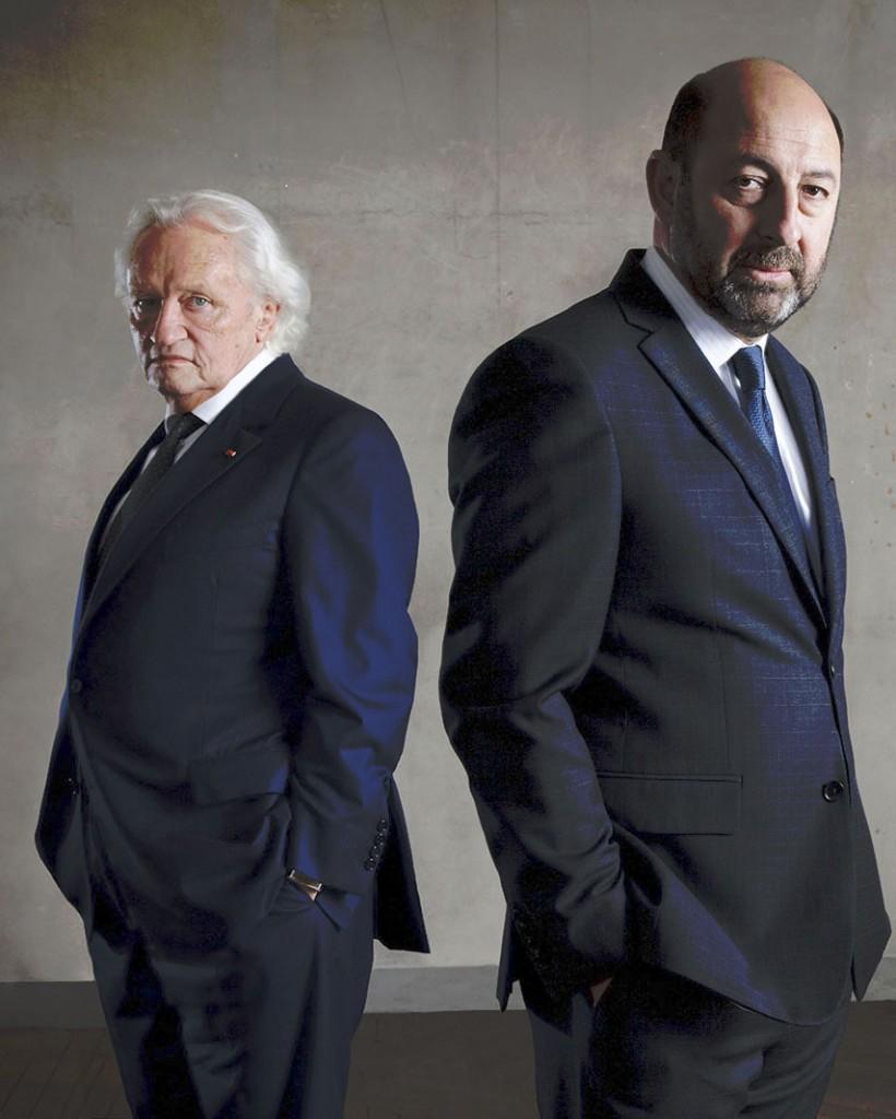Le Président Francis Laugier et Philippe Rickwaert
